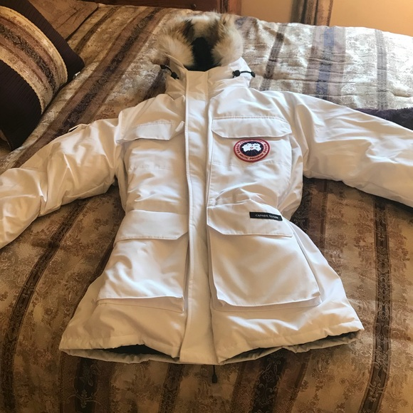 canada goose expedition parka brown
